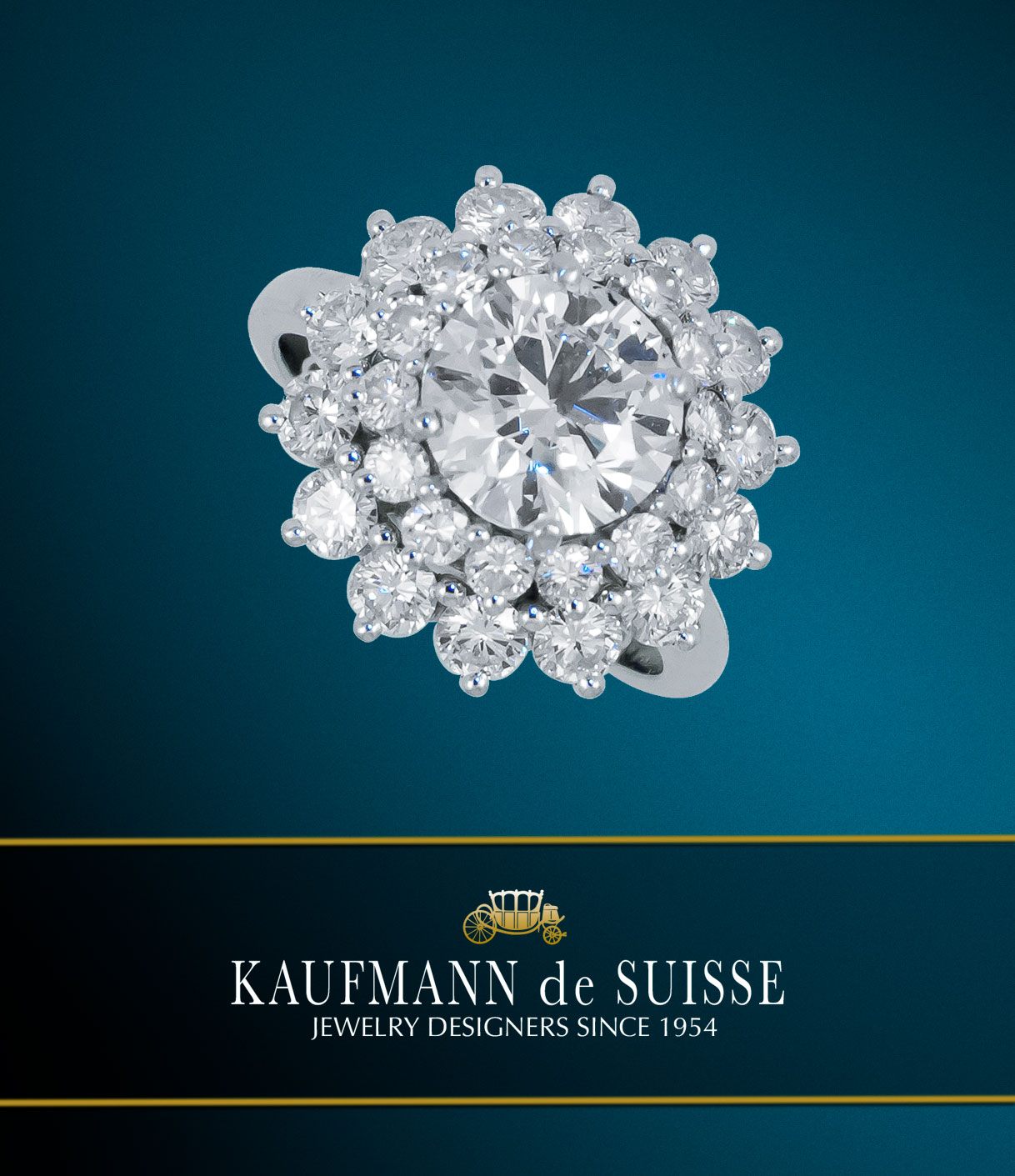 Diamond Ring at Kaufmann de Suisse Jewelers