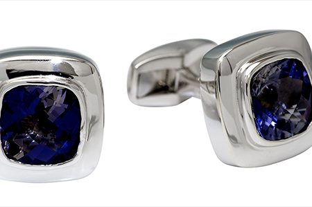 Midnight Stone Cufflinks