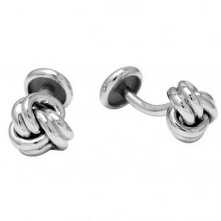 Eternal Knot Cufflinks