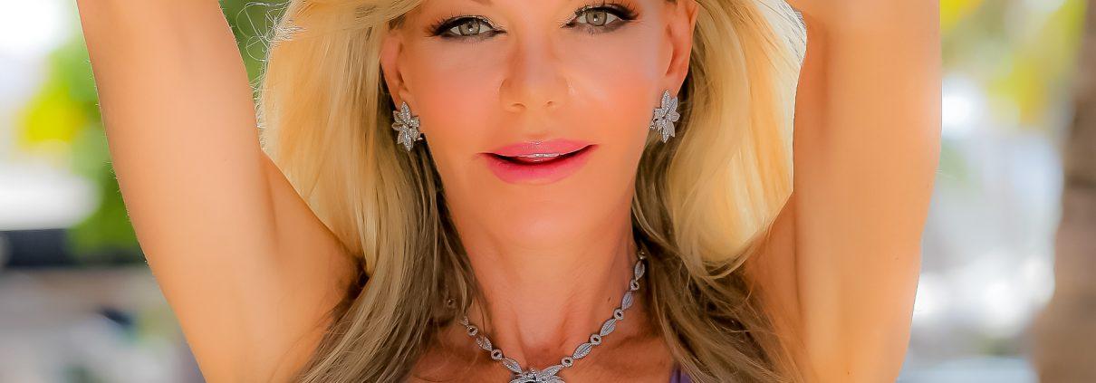 Dazzling 83 Carat Blue Topaz Necklace with Diamonds