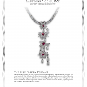 The Ruby Garden Pendant