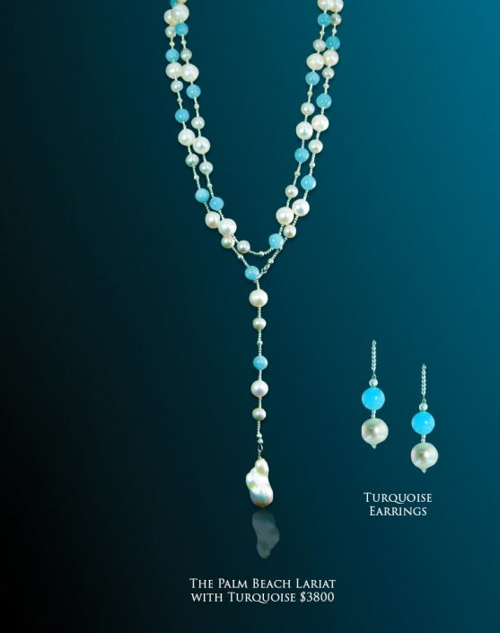 Turquoise Lariat
