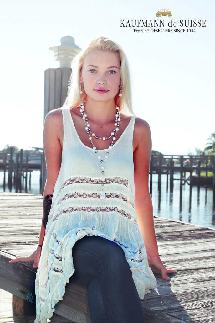The Classic Palm Beach Lariat Necklace