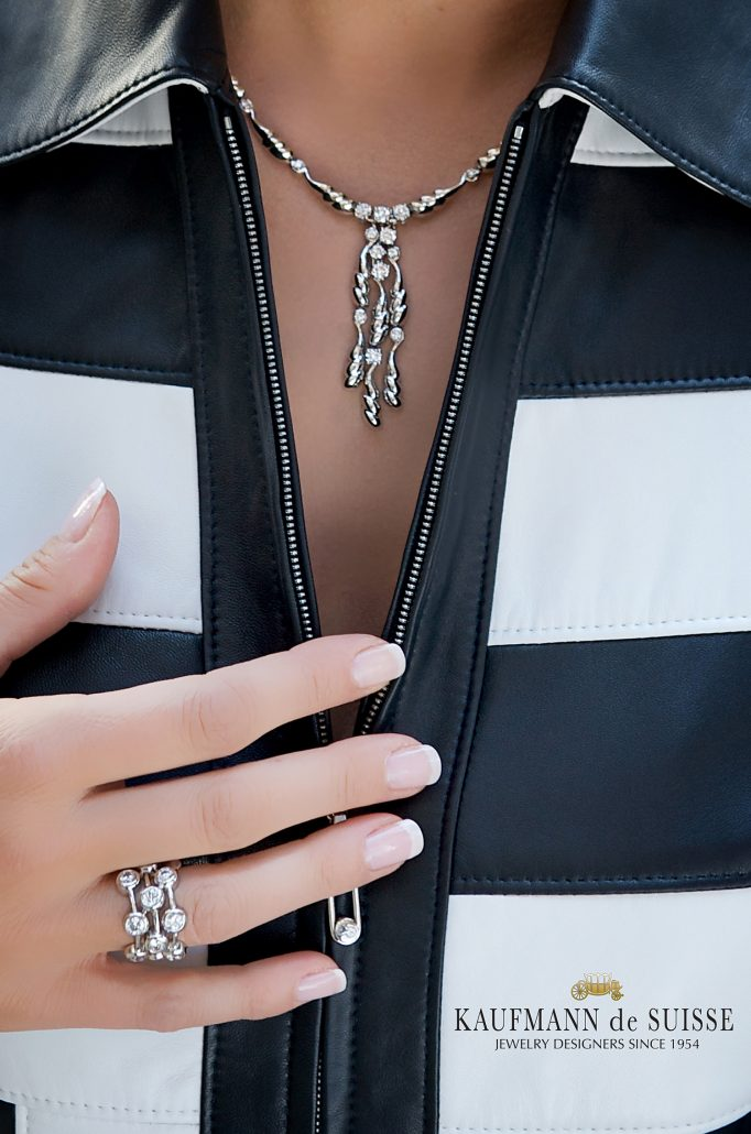 Diamond Necklace and Ring