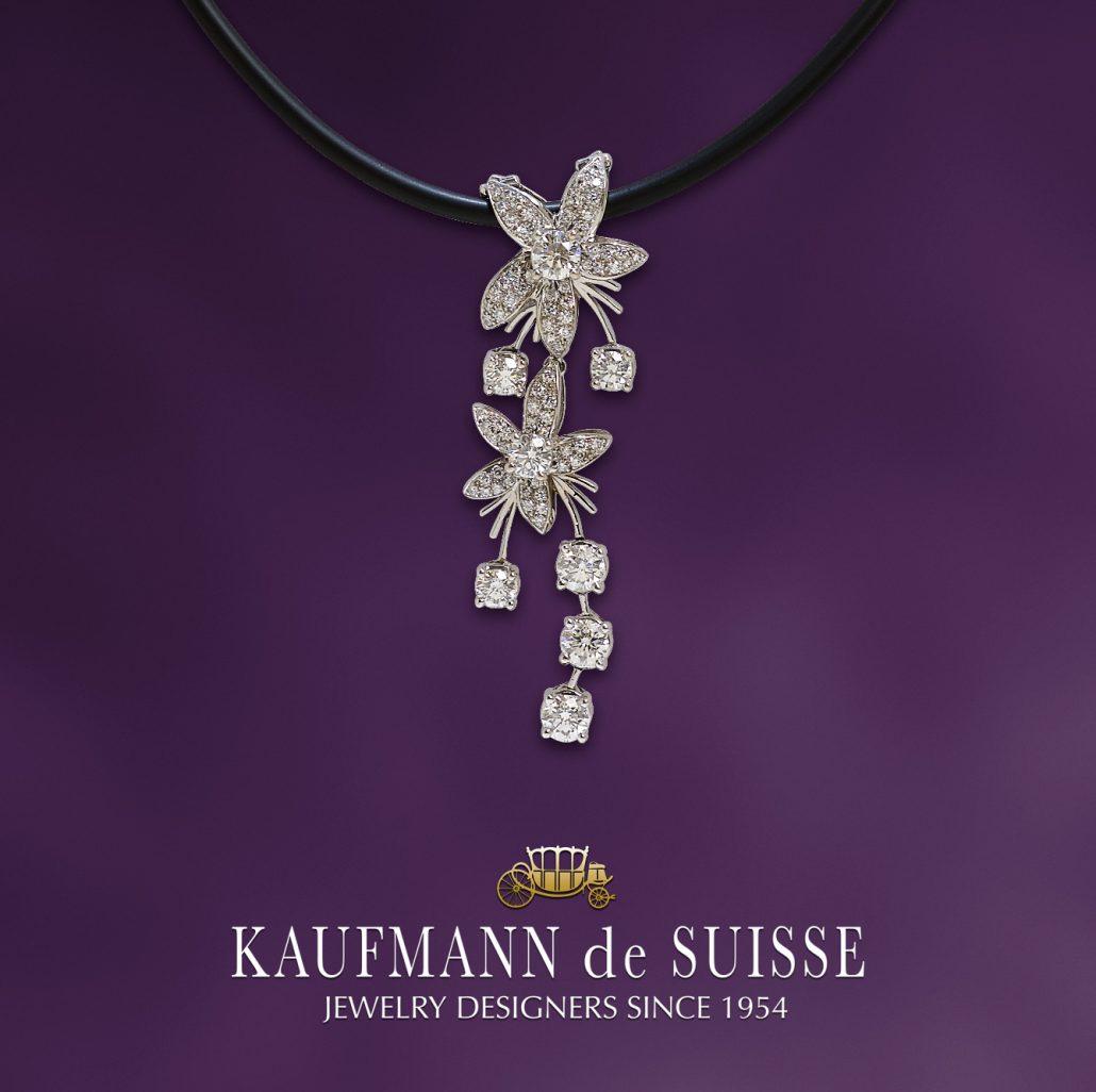 Jasmine de Nuit Diamond Pendant
