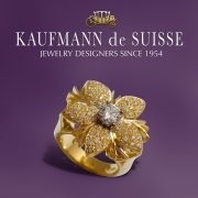 Jasmine de Nuit ring in 18K Yellow Gold