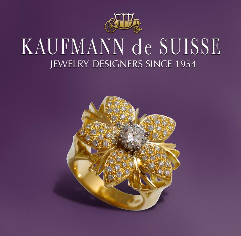 Jasmine de Nuit ring in 18K Yellow Gold