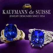 Vibrant Flowing Lines Sapphire Rings