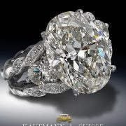 6 CTS Oval Diamond from Kaufmann de Suisse Jewelers