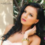 Rhodolite & Diamond Necklace