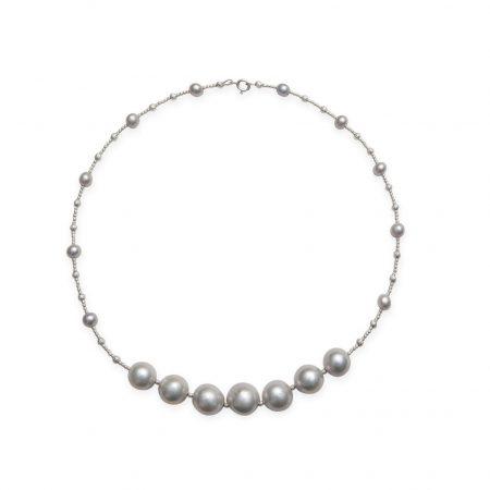 Modern Seagrape Necklace
